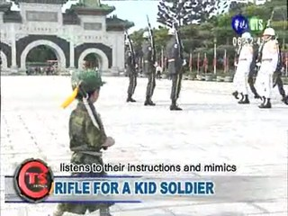 Rifle for a Kid Soldier