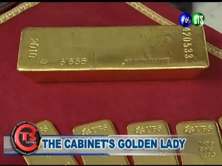 The Cabinet's Golden Lady