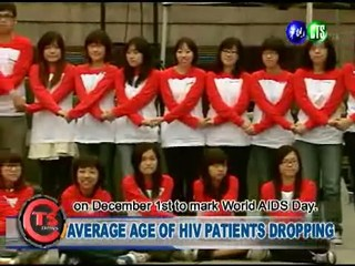 Average Age of Hiv Patients Dropping