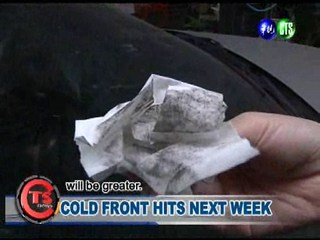 Cold Front Hits Next Week