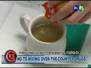 No to Mixing Over-the-counter Drugs