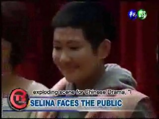 SELINA MAKES FIRST POST-ACCIDENT PUBLIC APPEARANCE