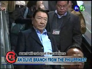 AN OLIVE BRANCH FROM THE PHILIPPINES?