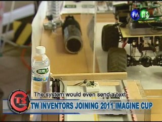 TW INVENTORS JOINING 2011 IMAGINE CUP
