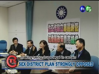 SEX DISTRICT PLAN STRONGLY OPPOSED