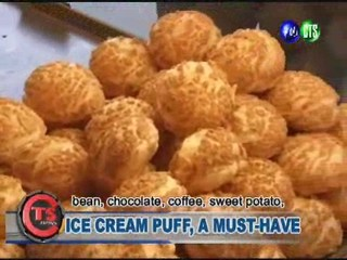 ICE CREAM PUFF, A MUST-HAVE