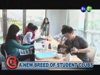 A NEW BREED OF STUDENT CLUBS