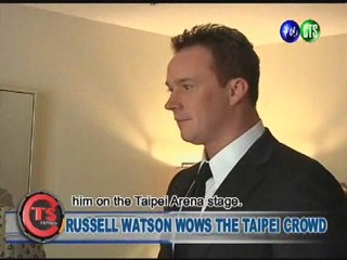 RUSSELL WATSON WOWS THE TAIPEI CROWD