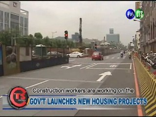 GOV'T LAUNCHES NEW HOUSING PROJECTS