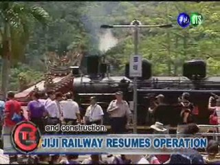 JIJI RAILWAY RESUMES OPERATION