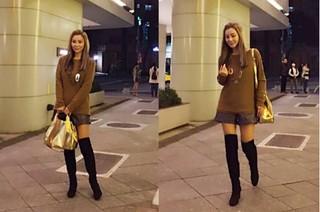 61歲陳美鳳 新年街拍網友:以為是安室奈美惠