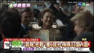 金球獎明頒獎 科幻片異軍突起!