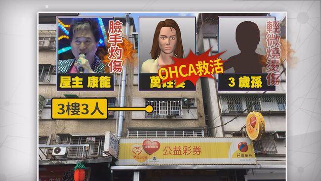 康龍家失火 妻子今中午傳出不治消息 | 華視新聞