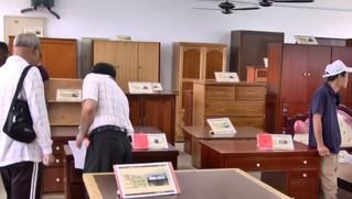 北市環保局再生家具拍賣 五星飯店沙發1元起標