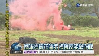 反突擊作戰模擬 陸軍護花蓮港