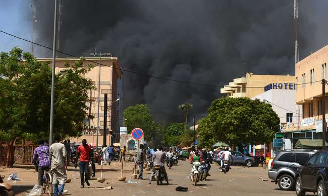 布吉納法索首都遭恐攻 槍戰目前持續進行中   華視新聞