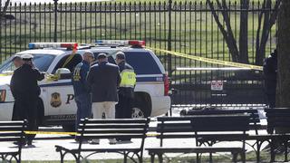 男白宮圍欄外開槍身亡 動機不明