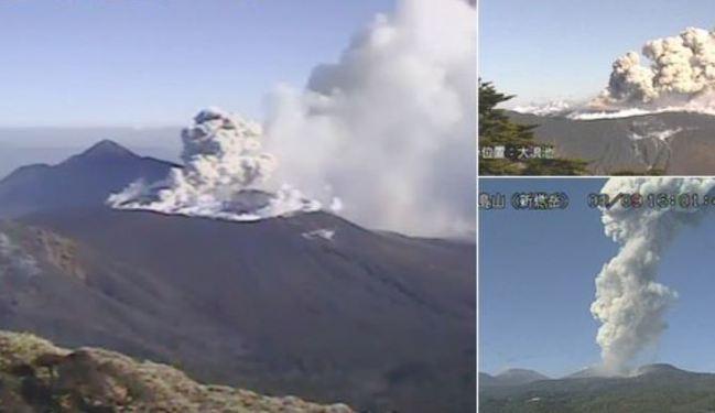 日本新燃岳火山再噴發 目前暫無危險 | 華視新聞