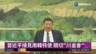 """習近平接見南韓特使 關切""""川金會"""""""