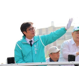 陳其邁拜會陳菊 綠營團結打選戰