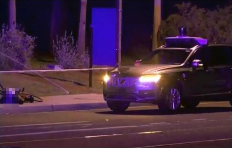 全球首起! Uber自駕車撞死人 美加路面測試急喊卡