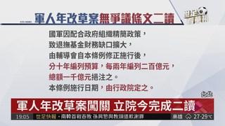 軍改朝野協商 八百壯士集結凱道抗議