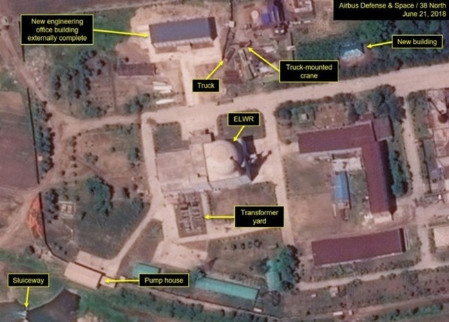 北韓欺騙全球? 衛星照顯示核子場蓋新建物