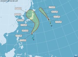 雲雀颱風今生成 中南部嚴防午後陣雨