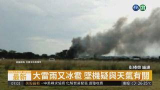 墨西哥航空傳墜毀 至少80人受傷