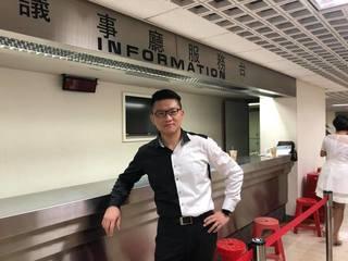 童仲彥宣布退選 自嘲「了不起負責」