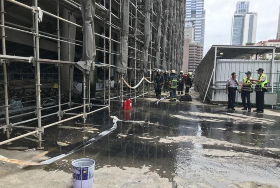 大巨蛋今傳火警 北市建管處:周三全面檢查