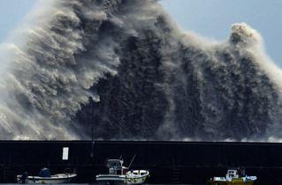 颱風西馬隆撲日本 造成4.5萬戶停電