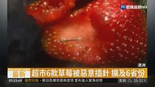 澳洲水果被惡意插入縫紉針 全國恐慌