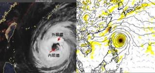 中颱潭美「眼牆置換」 吳德榮:又有熱帶擾動發展