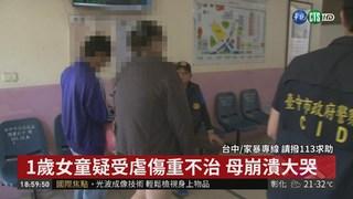 台中1歲童疑受虐致死 母:跳舞受傷