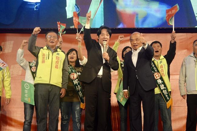 新北市選前激戰 賴揆站台挺蘇貞昌 | 華視新聞