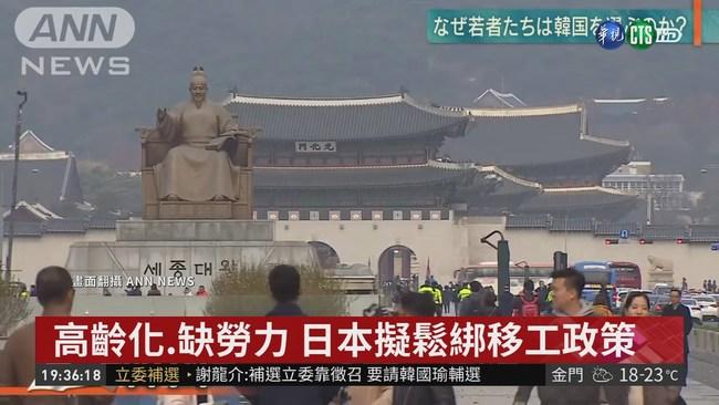 高齡化 缺勞力 日本擬鬆綁移工政策 | 華視新聞