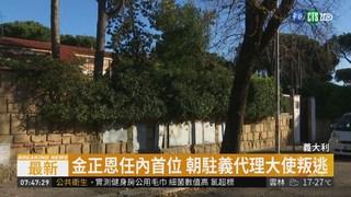 北韓駐義代理大使 叛逃要求人身保護