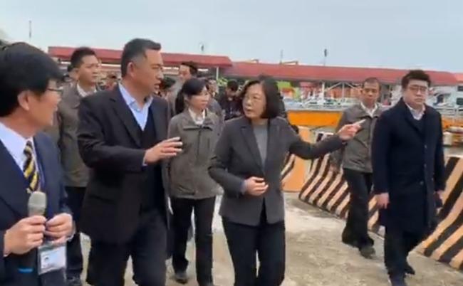 蔡英文親視察金門 「中國疫情失控已是事實」 | 華視新聞