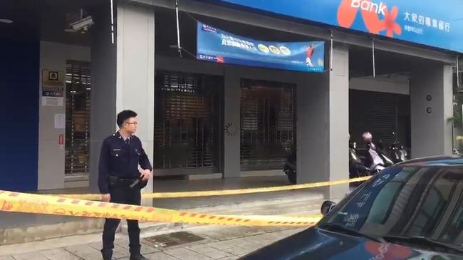 台中元大銀行遭搶20萬 嫌犯汽車旅館落網 | 華視新聞