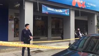 台中元大銀行遭搶20萬 嫌犯汽車旅館落網