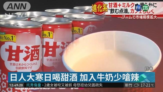 今日大寒! 日本人喝甜酒暖胃養生 | 華視新聞