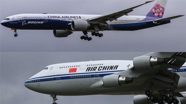 傻傻分不清!加部落格誤用華航照片為「中國籍航空」   華視新聞