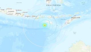 印尼發生規模6.4大地震 目前無海嘯警報