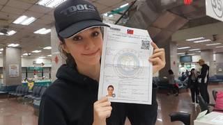烏克蘭第1人! 瑞莎明正式取得台灣身分證
