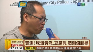 【台語新聞】沒喝酒被判酒駕? 竟是蛋黃派惹禍