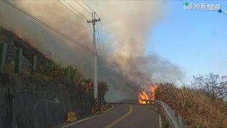 【晚間搶先報】南投森林火燒1.7公頃 直升機吊水灌救