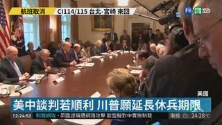 貿戰休兵期限將至 美財長抵北京談判
