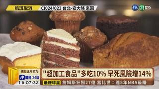 【台語新聞】法研究:超加工食品吃太多 恐害早死!