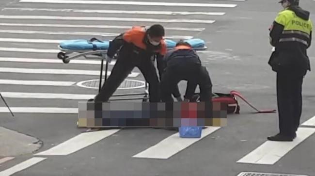 北市男子當街持刀自殘 傷重宣告不治   華視新聞